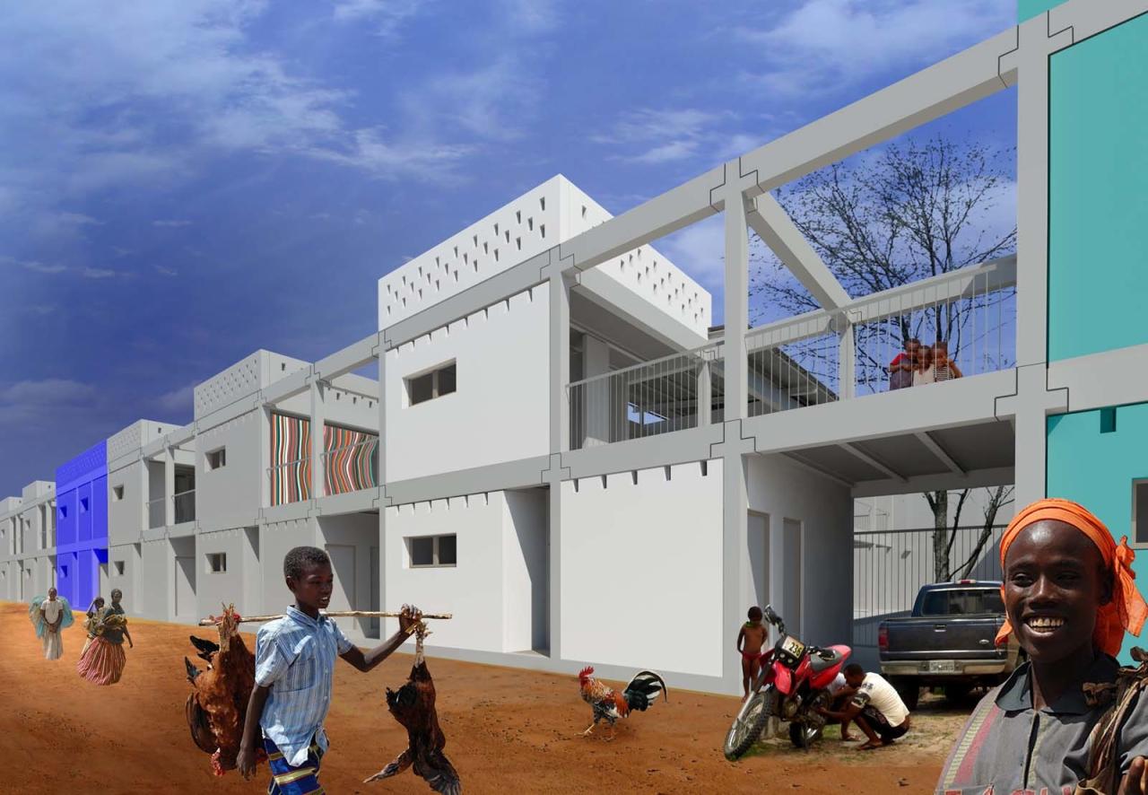 Sofft Mikołaj Smoleński House in Luanda